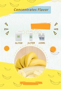 Buy cheap Ripe Banana Liquid Flavor Concentrate Zero Nicotine Pg Vg Mixed product