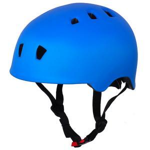 China Matt Sky Blue Rollerblade Helmet , Roller Skating Helmet For Kids G1321 Model wholesale