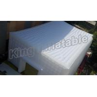 Quality Marquee Reinforced Seam Inflatable Event Tent PVC Stretch Building Tent With Door And Windows for sale