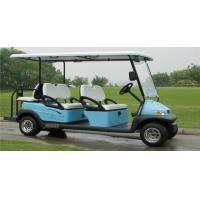 Electric Vehicle 6 Seater Golf Cart , Multi Passenger Golf Carts For Club