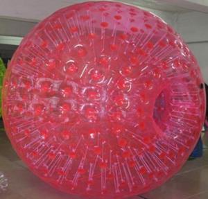 Buy cheap Boule gonflable de Zorb de couleur simple rouge pour des enfants product