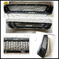Buy cheap Matte Black ABS Car Front Grill Guard mesh With Nuts for Toyota Hilux Revo 2016 product