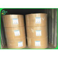 Buy cheap 50gsm - 400gsm Large Kraft Paper Roll , Unbleached Kraft Paper FSC Certified product