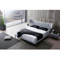 Buy cheap Crushed Velvet Fabric Bed With Drawer , Crushed Velvet Super King Size Bed product