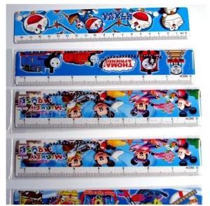 Buy cheap OK3D design 3d custom design animation lenticular ruler 20cm 30cm pvc plastic 3d lenticular printing ruler for students product