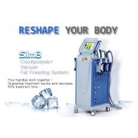 Buy cheap Powerful Multifunctional Cryolipolysis Machine Cellulite Reduction Machine With 4 Handpieces product