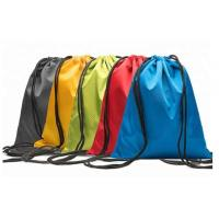 Buy cheap Multi Colored Polyester Drawstring Bag 38x40cm For Sports Activities product