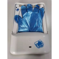 Buy cheap 12W No Touch Biodegradable PE Plastic Glove Dispenser Wall Mount product