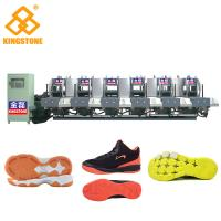 Buy cheap Semi Automatic One Color Rubber Sole Making Machine For High Grade Leather Shoes product