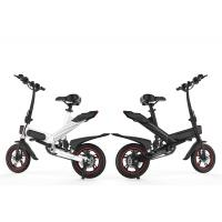 Buy cheap 350W Portable Electric Pedal Bike 36V Lithium Battery Powered 25 Km / H product