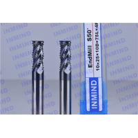 Buy cheap Solid Carbide High Speed Milling Cutters For Tempered Steel / Stainless Steel product