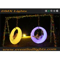 Buy cheap Garden Led Swing Seat For Adults / Children , Colorful Modern Led Bar Counter product
