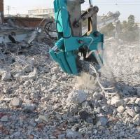China Demolition excavator crusher concrete pulverizer jaw for excavator on sale