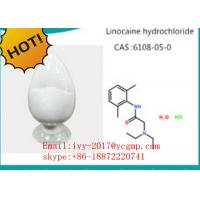 Buy cheap Pharmaceutical Intermediates Local Anesthetic Drugs 73-78-9 Lidocaine Hydrochloride product