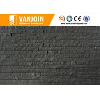 Buy cheap Breathability Durability Black Wall Tiles / Exterior Wall Decorative Clay Split Brick Tile from wholesalers