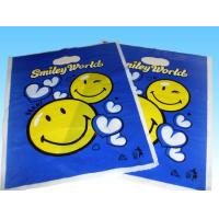 China garment Die Cut Handle Bags LDPE polybag on sale
