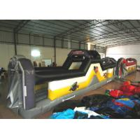 Buy cheap Giant Funny Adult Inflatable Obstacle Courses 10 X 2 X 2.6m 0.55mm Pvc Tarpaulin product