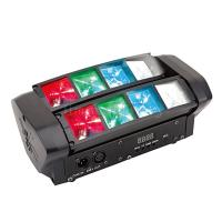 Buy cheap DMX Suond Activated 8X3w rgbw Mini Spider Beam LED Moving Head DJ Lights product