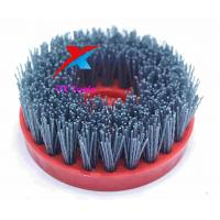 Buy cheap 110mm snail lock abrasive antique brush for stone and tile for making antique finished with hand grinder product