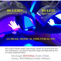 China 415nm wavelength purple light PDT LED light therapy machine for acne treatment wholesale