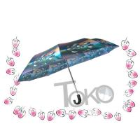 Buy cheap Compact Sun Auto Open Umbrella , Self Opening And Closing UmbrellasSolid Frame product