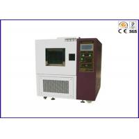China Programmable High Low Temperature Test Chamber With Air Cooled / Water Cooled on sale