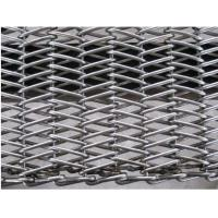 Stainless Steel 304 Wire Conveyor Belts Chain Drive Herringbone Type