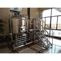 Buy cheap Manual Control 1000L Small Microbrewery Equipment Micro Brewing Systems Eco from wholesalers