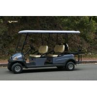 Buy cheap Electric Six Passenger Golf Cart With 48V Battery For Sightseeing CE Approved product