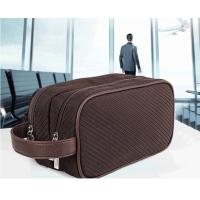 Buy cheap Double Zipper Pockets Promotional Toiletry Bag Luxury For Business Travel product
