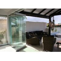 Buy cheap High Performance Sliding Movable Frameless Glass Wall For Office and Shopping Mall product