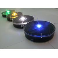 Buy cheap Traffic Central Lane Plastic Road Stud Solar Powered LED Marker Light from wholesalers