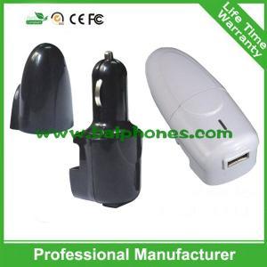 Buy cheap 2015 nuevo diseño 2 en 1 cargador del coche del teléfono celular del cargador del cargador de viaje y del coche product