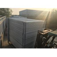 China Imported Temporary Fencing panels ,base ,clamp for sale BURKETOWN 2100mm x 2400mm fencing panels meet AS4687-2007 on sale