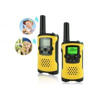 Buy cheap 3-5KM Range Rechargeable Walkie Talkies With 99 CTCSS Code And 8-22 Channels product