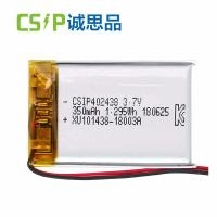 Buy cheap High Voltage Li Poly Rechargeable Battery Pack For Beauty Device 402438 product