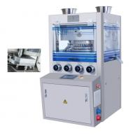 Double Press Type Rotary Tablet Press Machine With Force Feeder Device