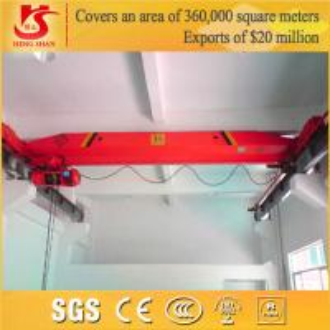 Buy cheap Workstation Lifting Crane Electric Single Girder Crane product