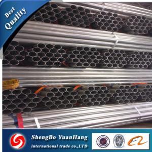 API ERW Round Hot Dipped Galvanized steel pipe/tube