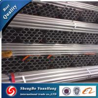 Quality API ERW Round Hot Dipped Galvanized steel pipe/tube for sale