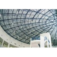 Buy cheap Space Frame Pre-engineered Building With Cone , Bolted Spherical Ball / Hollow Ball product