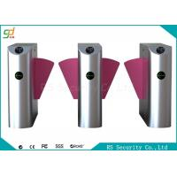 Custom CPSE Pedestrian Flap Gate Turnstile Port Exhibition Hall Barrier