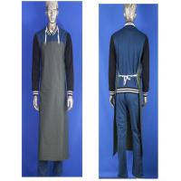 China Anti - Acid And Alkali Industrial Waterproof Aprons High Elasticity With PVC Film on sale