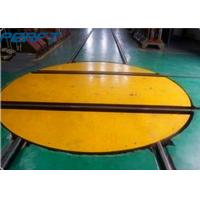 China Rail Material Handling Turntable which can turn to 360 degrees for warehouse to rotate a trailer on sale