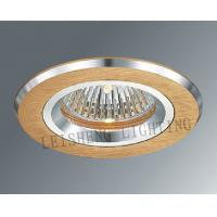 China Satin Silver Aluminum Dimmable 12V 50W MR11 Ceiling Lights Fixtures For Exhibition Hall wholesale