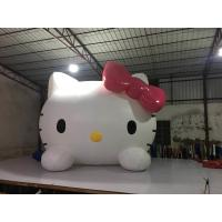 Buy cheap Parties And Events Inflatable Advertising Signs / Hello Kitty Blow Up Cartoon product
