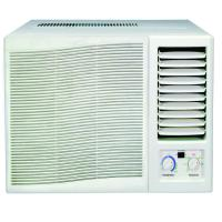 Quality 7000btu R410a window air conditioner mechanical control cool and heat with remote controller for sale
