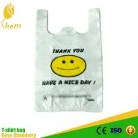 Gravure Printing Surface T Shirt Bag Wholesale Cheap
