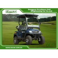 Buy cheap Customized 2 Seater Electric Golf Carts , 48v 17ah Onboard Charger product