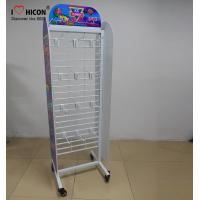 Buy cheap Movable Retail Store Fixtures , Metal Candy Retail Shop Display Shelving from wholesalers